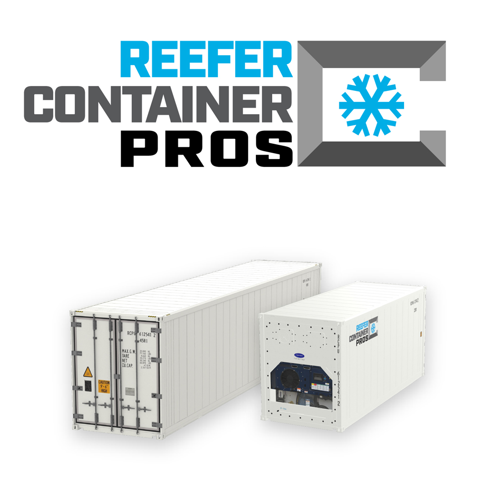 Reefer Container Pros, Reefer Container Pros logo, Reefer Container Sales, Reefer Container Rentals, Refrigerated Shipping Container, Reefer Container for Sale, Reefer Conex, Refrigerated Container, Cold Storage, Reefer Container Rentals, Reefer Container Pros a Railbox Consulting Company